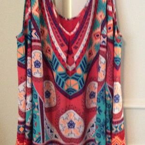 Boutique Cold Shoulder long sleeve tunic or dress!